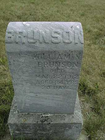 BRUNSON, WILLIAM N. - Clinton County, Iowa | WILLIAM N. BRUNSON