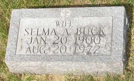 BUCK, SELMA - Clinton County, Iowa | SELMA BUCK