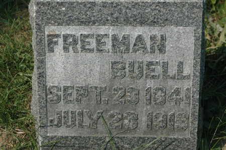 BUELL, FREEMAN - Clinton County, Iowa | FREEMAN BUELL