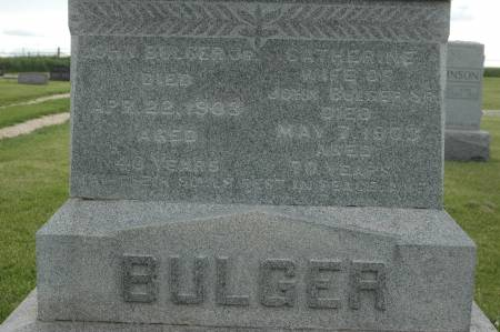 BULGER, JOHN JR. - Clinton County, Iowa | JOHN JR. BULGER