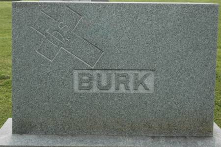 BURK, FAMILY MONUMENT - Clinton County, Iowa   FAMILY MONUMENT BURK