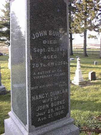 BURKE, JOHN - Clinton County, Iowa | JOHN BURKE