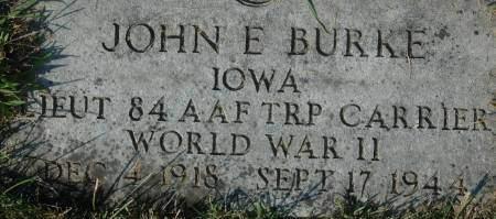 BURKE, JOHN E. - Clinton County, Iowa | JOHN E. BURKE