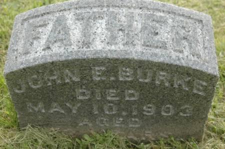 BURKE, JOHN E. - Clinton County, Iowa   JOHN E. BURKE
