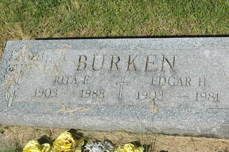 KAMLER BURKEN, RITA F. - Clinton County, Iowa | RITA F. KAMLER BURKEN