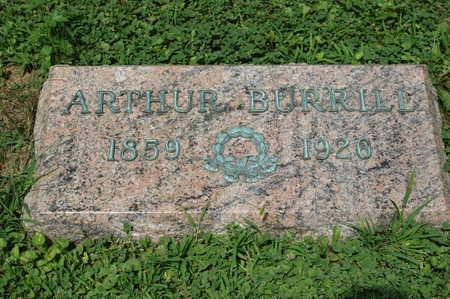 BURRILL, ARTHUR - Clinton County, Iowa | ARTHUR BURRILL