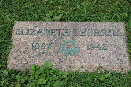 ITEN BURRILL, ELIZABETH - Clinton County, Iowa | ELIZABETH ITEN BURRILL