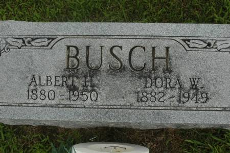 BUSCH, DORA W. - Clinton County, Iowa | DORA W. BUSCH
