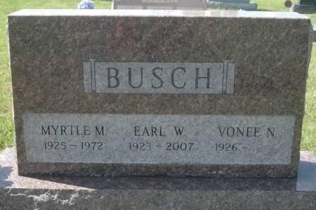 BUSCH, EARL W. - Clinton County, Iowa | EARL W. BUSCH