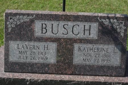 BUSCH, LAVERN H. - Clinton County, Iowa   LAVERN H. BUSCH