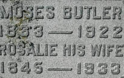 BUTLER, ROSALIE - Clinton County, Iowa | ROSALIE BUTLER
