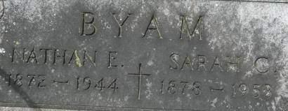 BYAM, SARAH C. - Clinton County, Iowa | SARAH C. BYAM