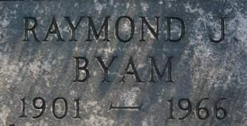 BYAM, RAYMOND J. - Clinton County, Iowa   RAYMOND J. BYAM