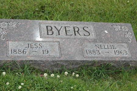 BYERS, NELLIE - Clinton County, Iowa | NELLIE BYERS