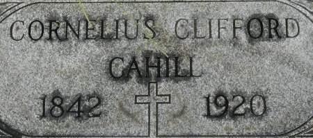 CAHILL, CORNELIUS CLIFFORD - Clinton County, Iowa | CORNELIUS CLIFFORD CAHILL
