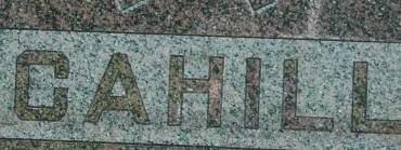 CAHILL, FAMILY MONUMENT - Clinton County, Iowa | FAMILY MONUMENT CAHILL