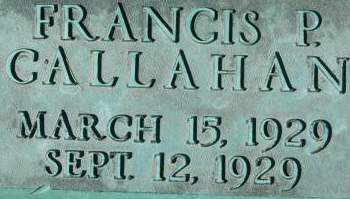 CALLAHAN, FRANCIS P. - Clinton County, Iowa | FRANCIS P. CALLAHAN