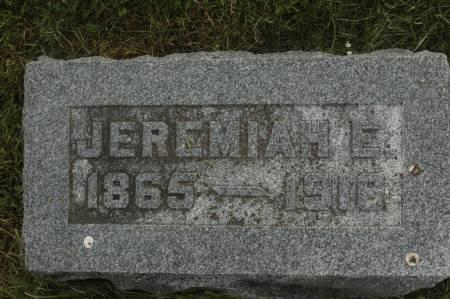 CALLAHAN, JEREMIAH E. - Clinton County, Iowa | JEREMIAH E. CALLAHAN