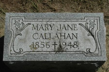 CALLAHAN, MARY JANE - Clinton County, Iowa | MARY JANE CALLAHAN