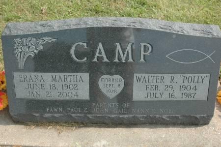 CAMP, ERANA MARTHA - Clinton County, Iowa | ERANA MARTHA CAMP