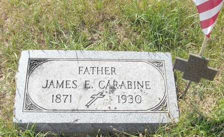 CARABINE, JAMES - Clinton County, Iowa | JAMES CARABINE