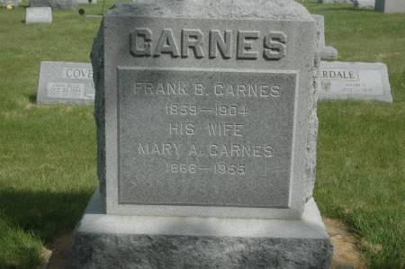 CARNES, FRANK B. - Clinton County, Iowa | FRANK B. CARNES