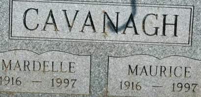 CAVANAGH, MARDELLE - Clinton County, Iowa | MARDELLE CAVANAGH