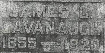CAVANAUGH, JAMES C. - Clinton County, Iowa | JAMES C. CAVANAUGH