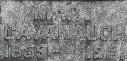 CAVANAUGH, MARY - Clinton County, Iowa | MARY CAVANAUGH