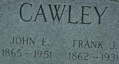 CAWLEY, FRANK J. - Clinton County, Iowa   FRANK J. CAWLEY