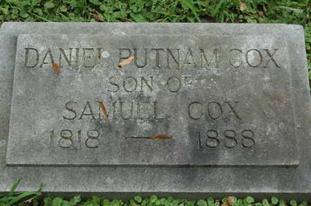 COX, DANIEL PUTNAM - Clinton County, Iowa | DANIEL PUTNAM COX