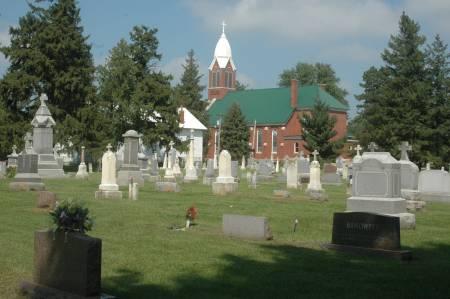 IMMACULATE CONCEPTION AKA PETERSVILLE, CEMETERY - Clinton County, Iowa   CEMETERY IMMACULATE CONCEPTION AKA PETERSVILLE
