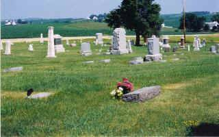 CENTER GROVE AKA INGWERSEN, CEMETERY - Clinton County, Iowa | CEMETERY CENTER GROVE AKA INGWERSEN