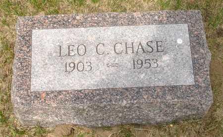 CHASE, LEO C. - Clinton County, Iowa   LEO C. CHASE