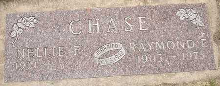 CHASE, NELLIE F. - Clinton County, Iowa   NELLIE F. CHASE