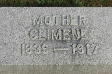 CHILDS, CLIMENE - Clinton County, Iowa | CLIMENE CHILDS