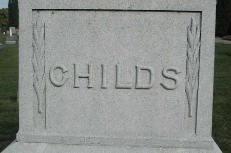 CHILDS, FAMILY MONUMENT - Clinton County, Iowa   FAMILY MONUMENT CHILDS