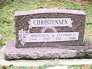 CHRISTENSEN, ELEANOR V - Clinton County, Iowa | ELEANOR V CHRISTENSEN