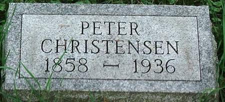 CHRISTENSEN, PETER - Clinton County, Iowa   PETER CHRISTENSEN