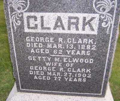 ELWOOD CLARK, GETTY M. - Clinton County, Iowa | GETTY M. ELWOOD CLARK