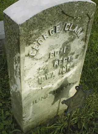 CLARK, GEORGE - Clinton County, Iowa | GEORGE CLARK