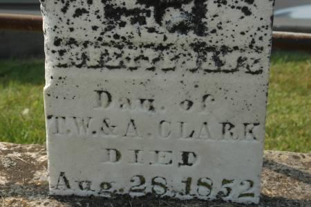CLARK, LORETTA JANE - Clinton County, Iowa | LORETTA JANE CLARK