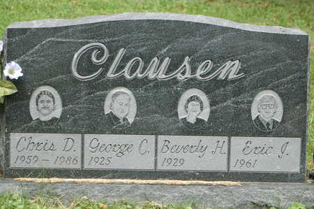 CLAUSEN, ERIC J. - Clinton County, Iowa | ERIC J. CLAUSEN