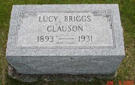 CLAUSON, LUCY - Clinton County, Iowa | LUCY CLAUSON