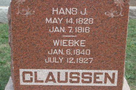 CLAUSSEN, HANS J - Clinton County, Iowa | HANS J CLAUSSEN
