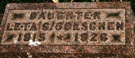 COLSCHEN, LETA - Clinton County, Iowa | LETA COLSCHEN