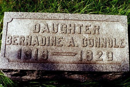 CONNOLE, BERNADINE A. - Clinton County, Iowa | BERNADINE A. CONNOLE