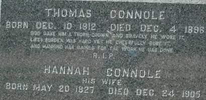 CONNOLE, HANNAH - Clinton County, Iowa | HANNAH CONNOLE