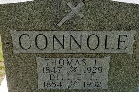 CONNOLE, DILLIE E. - Clinton County, Iowa | DILLIE E. CONNOLE