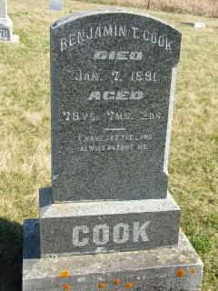 COOK, BENJAMIN T - Clinton County, Iowa | BENJAMIN T COOK